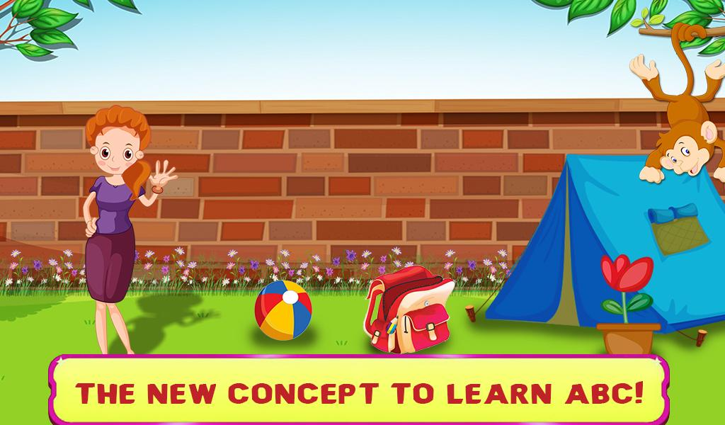 Kids Learning ABC Flash Cards- screenshot