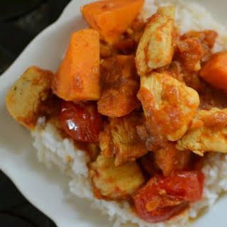 Chicken, Tomato and Sweet Potato Curry.