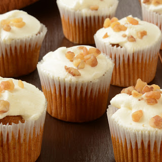 Gluten Free Mini Carrot Cakes.