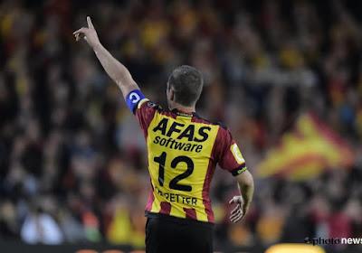 Le FC Malines sans De Petter contre Ostende