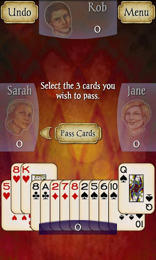 Hearts Free screenshot 1