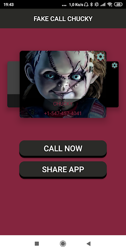Fake Call From scary doll Prank 1.0 screenshots 1