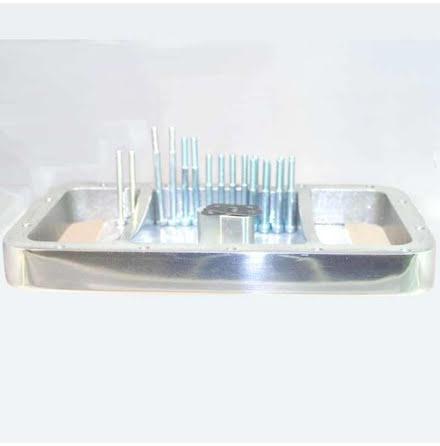 Oil sump spacer ring ''polished for BMW R2V