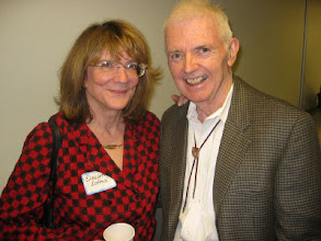 Photo: Professors Elizabeth Loftus and Walter Fitch
