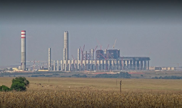 The Kusile Power Station in Delmas, Mpumalanga, over which Abram Masango has been suspended.