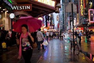 Photo: rainy day, New York City