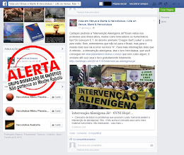 """Photo: A mencionada página de nome VIDA EM VÊNUS E MARTE & HERCÓLUBUS mostra uma manifestação pública com uma faixa INTERVENÇÃO ALIENÍGENA como paródia no protesto a política nacional, assim como quando exibem faixas escritas INTERVENÇÃO MILITAR, S.O.S. FORÇAS ARMADAS, INTERVENÇÃO PSIQUIÁTRICA JÁ. etc. No fundo da manifestação aparece outra faixa dizendo O POVO ESTÁ AO LADO DE VOCÊS ( com aquela figura do monstrinho extraterrestres inventado pelos intelectualóides ).  Depois, a página escreve: """"Bom , entendemos que não só para o Brasil, mas para o mundo todo isso irá ocorrer na hora H. Para mais informação disto que é referido - a intervenção alienígena - leia Hercólubus , que você consegue em...""""  Queremos esclarecer aos nossos leitores que isso de INTERVENÇÃO EXTRATERRESTRE ou INTERVENÇÃO ALIENÍGENA não existe por ser manipulação dos intelectuais. Entenda que os extraterrestres não são impositivos, tiranos, colonizadores etc., pois respeitam o nosso livre arbítrio. Os extraterrestres, em sua grande maioria, estão totalmente alinhados as leis superiores do CRIADOR, de forma que jamais iriam intervir em nosso sistema de vida, seja ele político, econômico, religioso etc. Os gnósticos ( os verdadeiros ) sabem que não vai haver intervenção alienígena nenhuma, como quer falar os ignorantes ilustrados e os demais disfarçados de gnósticos. Alienígenas somos nós que estamos completamente isolados no cosmos infinito, assim como a humanidade Hercólubus, sem qualquer intercâmbio cultural com as milhares de civilizações extraterrestres do universo estrelado. Queremos aclarar aos nossos leitores que isso de intervenção extraterrestre ou intervenção alienígena é coisa dita por ignorantes e pelo grupo disfarçado de gnóstico Associação Alcione e Cia. Entenda que nenhum gnóstico verdadeiro, principalmente os da Nova Ordem, iriam sequer citar estas coisas de INTERVENÇÃO EXTRATERRESTRE e muito menos introduzir em suas páginas a figura do monstrinho extraterrestre cabeçudo, de olhos g"""