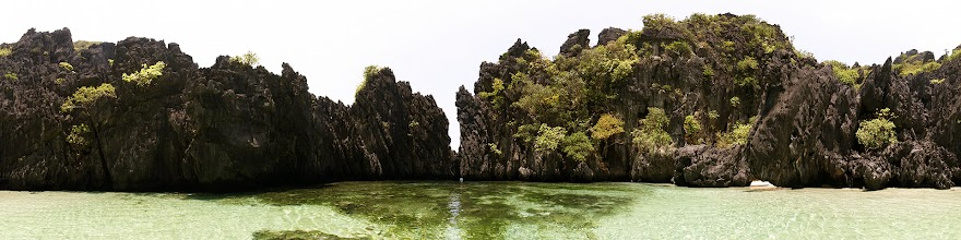 Photo: Philippines, Palawan, El Nido, Matinloc island, secret Lagoon