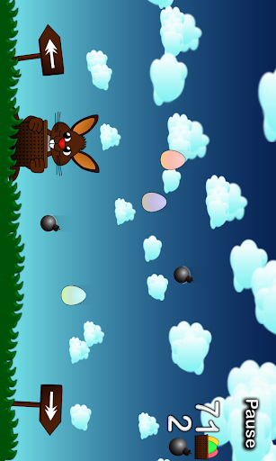 Rushing Bunny, help me to collect all the eggs screenshots 1
