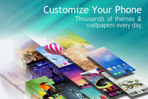 C Launcher: Themes Wallpapers screenshot 1