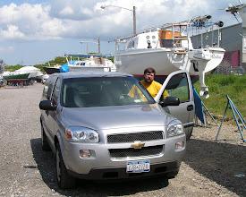 Photo: Наша машинка и Глеб/Gleb and our car