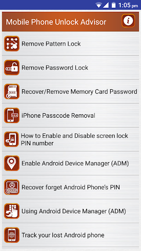 Download Clear Mobile Password PIN Help Google Play