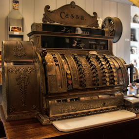 Cash register by Anita Berghoef - Artistic Objects Antiques ( cash register, artistic, artistic object, artistic objects, antique,  )
