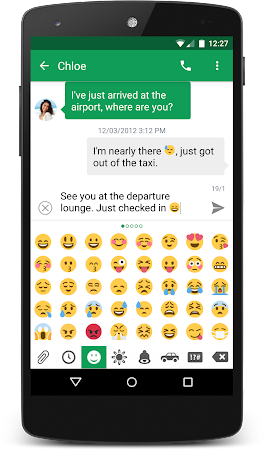 chomp SMS Twitter Style Emojis 1.2 screenshot 19081