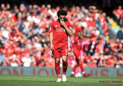 Mo Salah van Liverpool FC is out voor de interlands