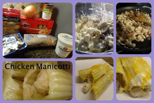 Chicken Manicotti Recipe