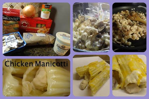 Chicken Manicotti Recipe