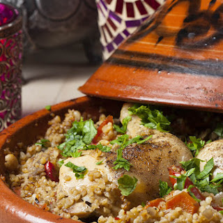 A Moroccan Countryside Mediterranean Chicken Tagine