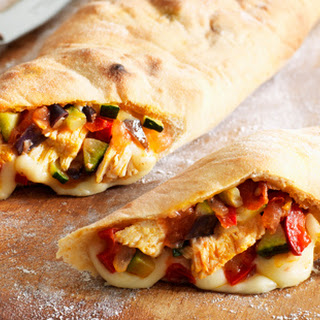 Chicken Pizza Calzone Recipe