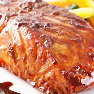 Baked Salmon with Teriyaki Glaze Recipe