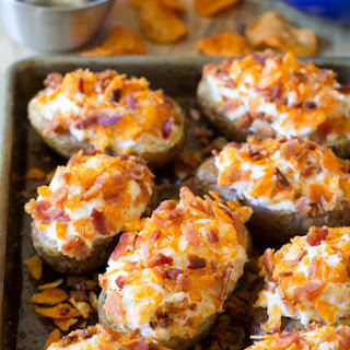 Spicy Mesquite Twice Baked Potatoes