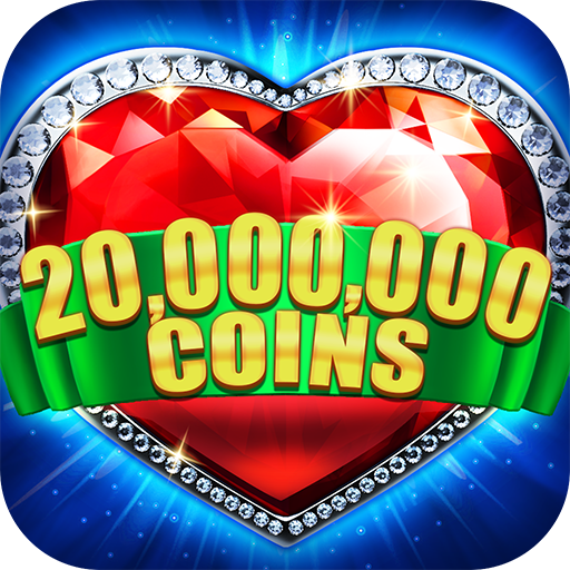 Slots! Heart of Diamonds Slot Machine&Casino Party