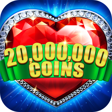 Slots! Heart of Diamonds Slot Machine&Casino Party