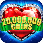 Download Slots! Heart of Diamonds Slot Machine&Casino Party Free