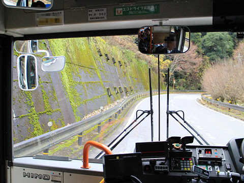 奈良交通「八木新宮線」 ・960 五條~上野地間 その4