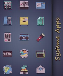 Eighties retro fun icon pack v1.1.0