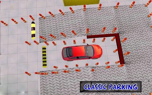 Klasické parkování extrémní 3D - náhled