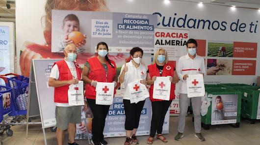Almería se vuelca con #Kilosdesolidaridad