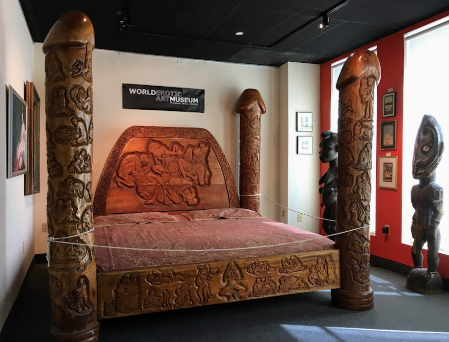 Who would sleep on this bed?