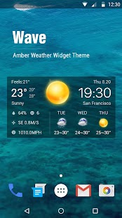 Download Local Weather Widget &Forecast For PC Windows and Mac apk screenshot 1