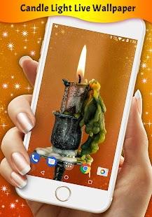 Candle Light Live Wallpaper - náhled