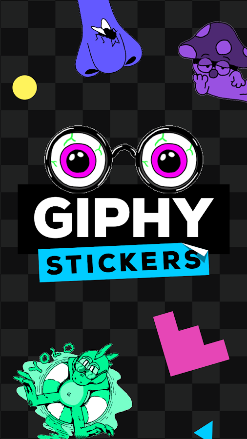 GIPHY Stickers- screenshot