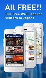 TRAVEL JAPAN [TJW] Free Wi-Fi screenshot 0