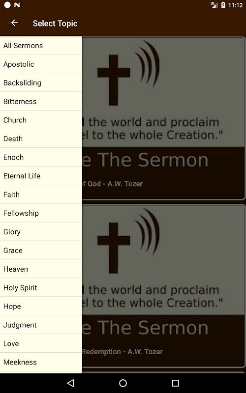 Powerful Sermon Topics