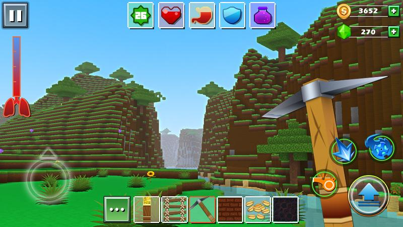 Exploration Lite Craft Android App Screenshot