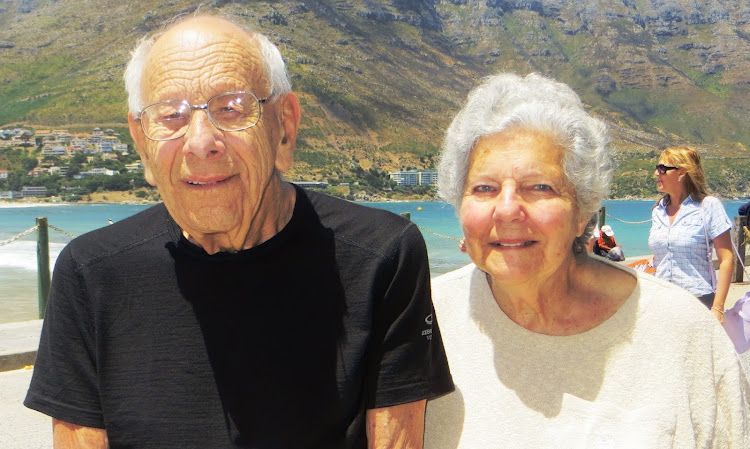 Aubrey Jackson and Rosalie Bloch in Hout Bay. They were murdered at their home in Mowbray on May 5 2018.