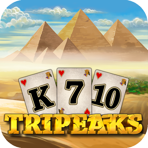 3 Pyramid Tripeaks Solitaire - Ancient Egypt Game (game)