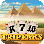 3 Pyramid Tripeaks Solitaire - Free Card Game Saga