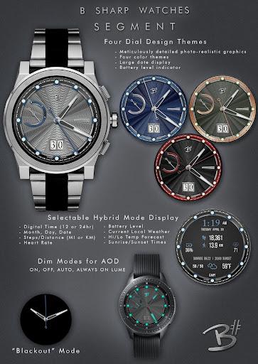 PC u7528 Segment - Premium watch face for smart watches 2