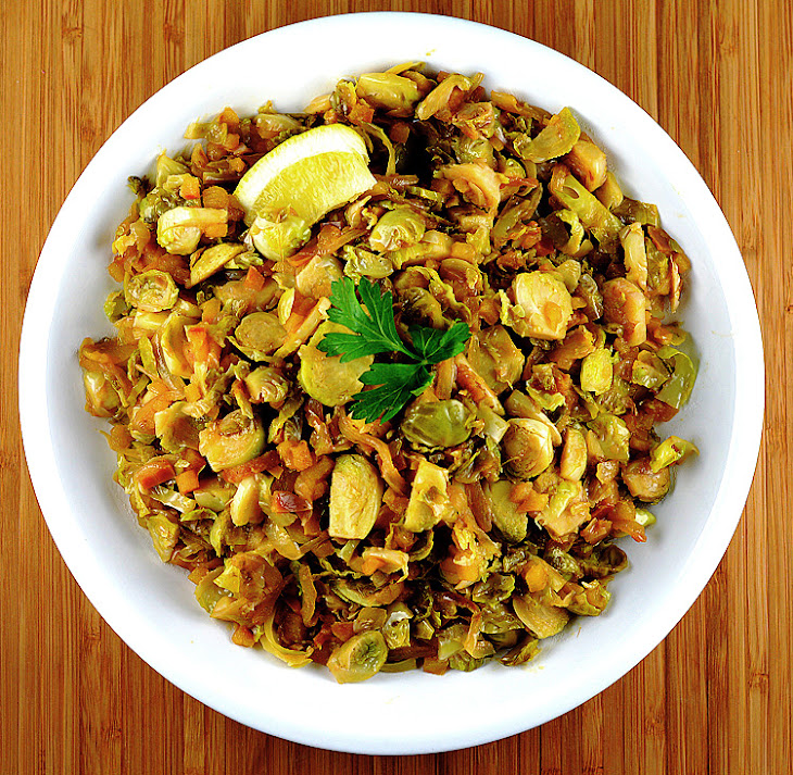 Brussel Sprout & Apple Hash Recipe