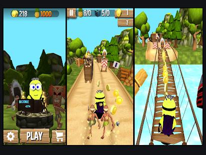 Banana Games : Minion Ninja Run - náhled