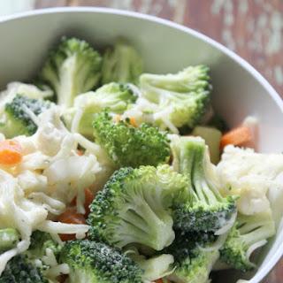 Ranch Broccoli Cauliflower Salad.