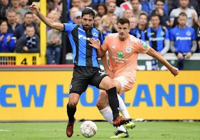 Le Club de Bruges se déplacera à Anderlecht sans Benoît Poulain