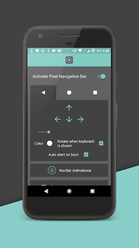 Pixel Navigation Bar (No Root) now with Animations 4.4 screenshots 2