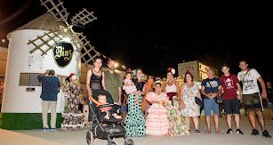 El histórico ambigú del Molino de Los Díaz en el Real de la Feria.