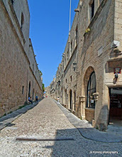 Photo: Rhodos oude stad. Ridderstraat.
